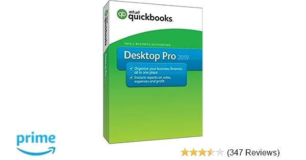 Intuit QuickBooks Desktop Pro 2019 [PC Disc]