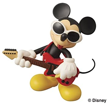 Figura Mickey Mouse Disney Estilo Alternativo Rock (Colección 2)