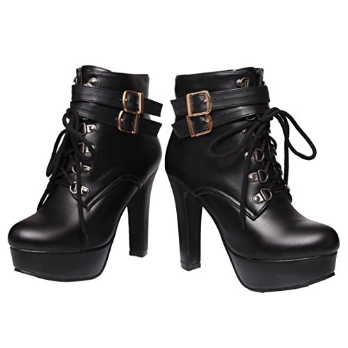 AIYOUMEI Classic Women's Classic Women's Classic Boot Women's Black Boot AIYOUMEI Boot Black AIYOUMEI EqAI8wE