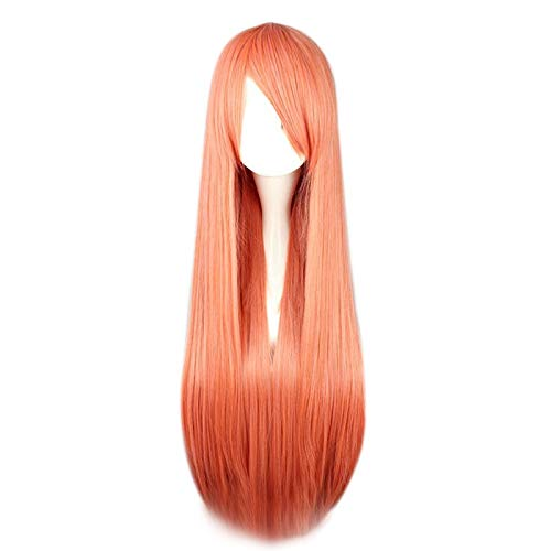 DER Peluca de Pelo sintética Larga for Mujer (Color : #35 ...