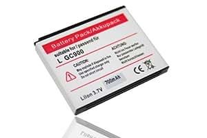 BATERÍA LI-ION compatible con LG GT400, GT405, GT 400 405 sustituye LG LGIP-580N