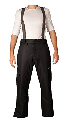 Arctix Men's Removable Suspender Pants, Black, Small (Snow Pants Clearance compare prices)