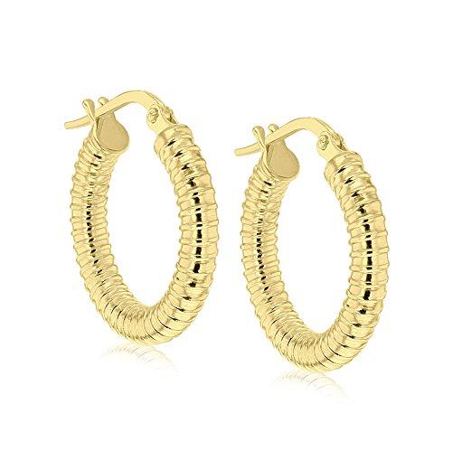 Carissima Gold - Boucles d'Oreille - 1.52.7589 - Femme - Or Jaune 375/1000 (9 Cts) 1.17 Gr