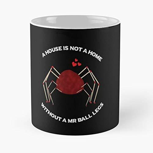 Santa Clarita Diet Joel Sheila Mr Ball Legs Netflix - Morning Coffee Mug Ceramic Best Gift