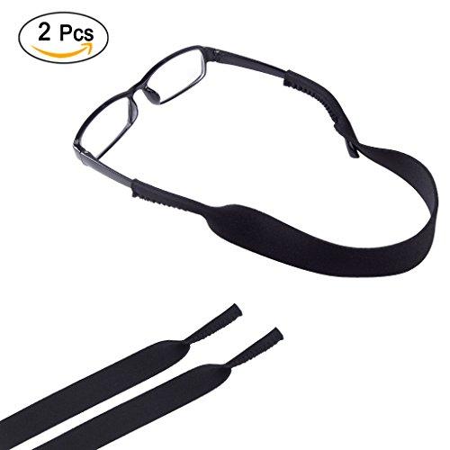 2-Pack Neoprene Glasses Eyewear Retainer,Sport Eyeglass Sunglass Retainer Holder - Strap Eyeglass Neoprene
