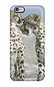 Hard Plastic Iphone 6 Plus Case Back Cover,hot Cheetahs Animal Case At Perfect Diy