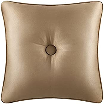 Colonial Gold Polyester 16-inch Throw Pillow