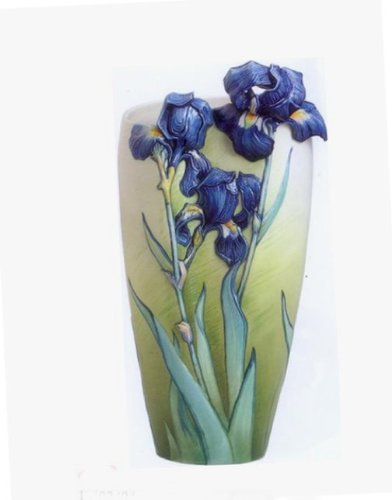 Amazon Franz Porcelain Vase Van Gogh Iris Home Kitchen