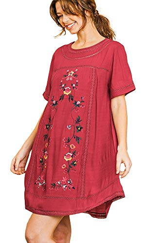 Umgee Women's Bohemian Embroidered