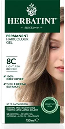 Herbatint 8C Blond cendré clair 9 x 150 ml: