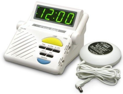 Sonic Alert SB1000SS Boom Alarm Clock with Bed - Clock Alert Sonic