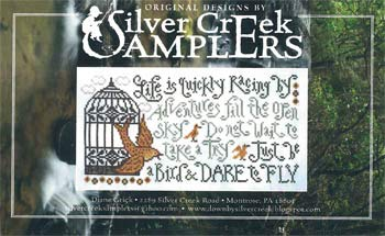 Dare to Fly Cross Stitch Chart