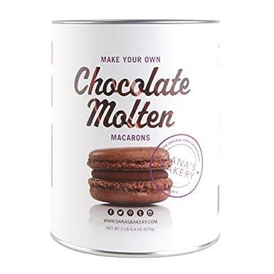 Chocolate Macaron Making Kit Danas Bakery Chocolate