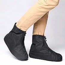 Sevend Waterproof shoe Cover, Reusable Men's Waterproof Cycling Hiking Rain Shoe Covers Lightweight Anti-slip Overshoes