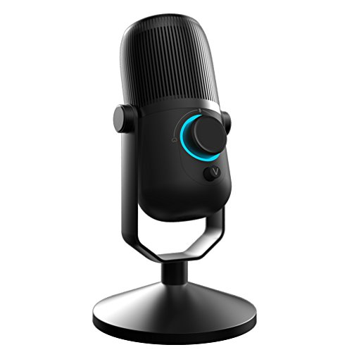THRONMAX MDRILL ZERO USB Condenser Microphone for Laptop MAC or Windows Cardioid Studio Recording Vocals, Voice Overs,Streaming Broadcastand YouTube Videos PC Microphone (BLACK)