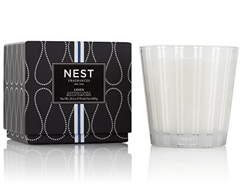 NEST Fragrances Linen 3-Wick Candle 21.2 Oz