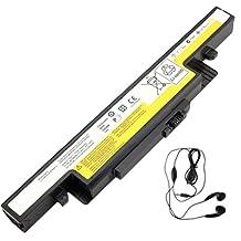 Amsahr Replacement Battery for IBM / Lenovo IdeaPad Y510P, Y400, Y400N, Y400P, Y410, Y410N - Includes Stereo Earphone