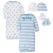 Gerber Baby Boys Layette Bundle, Prince, 0-6 Months