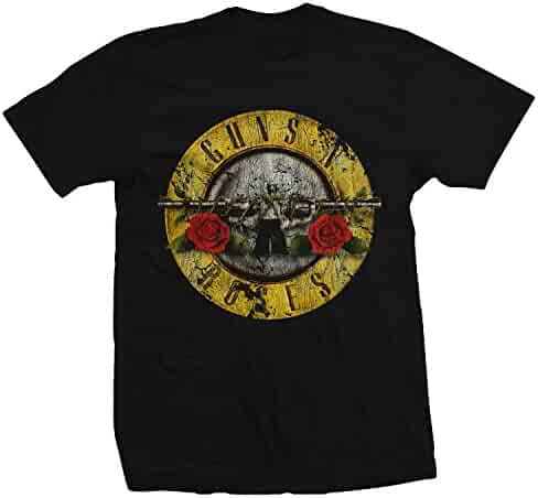 Bravado Guns N Roses Distressed Bullet Lightweight T-shirt