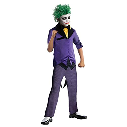 Rubies DC Super Villains The Joker Costume Child Large  sc 1 st  Amazon.com & Joker Costumes: Amazon.com