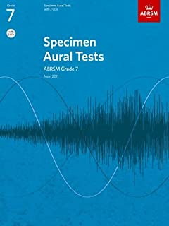 Specimen Aural Tests, Grade 8 with 2 CDs: new edition from