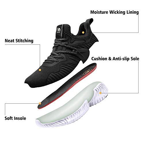 5bde1c0d6d2db CAMEL CROWN Trail Running Shoes Lightweight Fashion Mesh Tennis ...