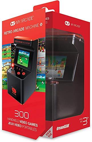 My Arcade Retro Arcade Machine X - Mini Arcade Cabinet with 300 Built-in Games (Table Pc Game Handheld)