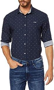 Camisa Classic Estampada, Colcci, Masculino