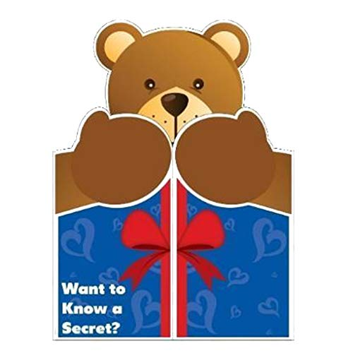 VictoryStore Jumbo Greeting Cards: Giant Love card (Giant Bear Hug) 2' x 3' card with envelope (Valentines Birthday Cards)