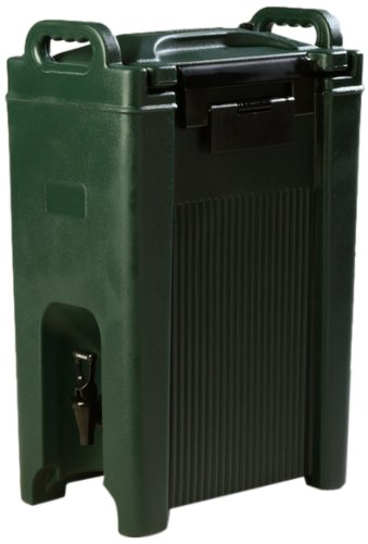 Carlisle XT500008 Cateraide Insulated Beverage Server Dispenser, 5 Gallon, Forest Green by Carlisle (Image #1)
