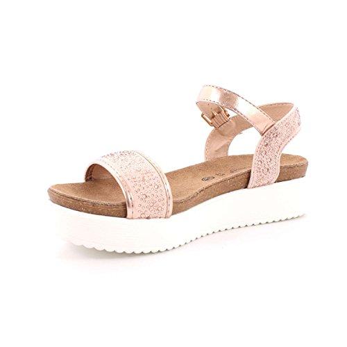 Donna SB1637 S Sandalo Mete Cipria Grunland 7ZxqAww