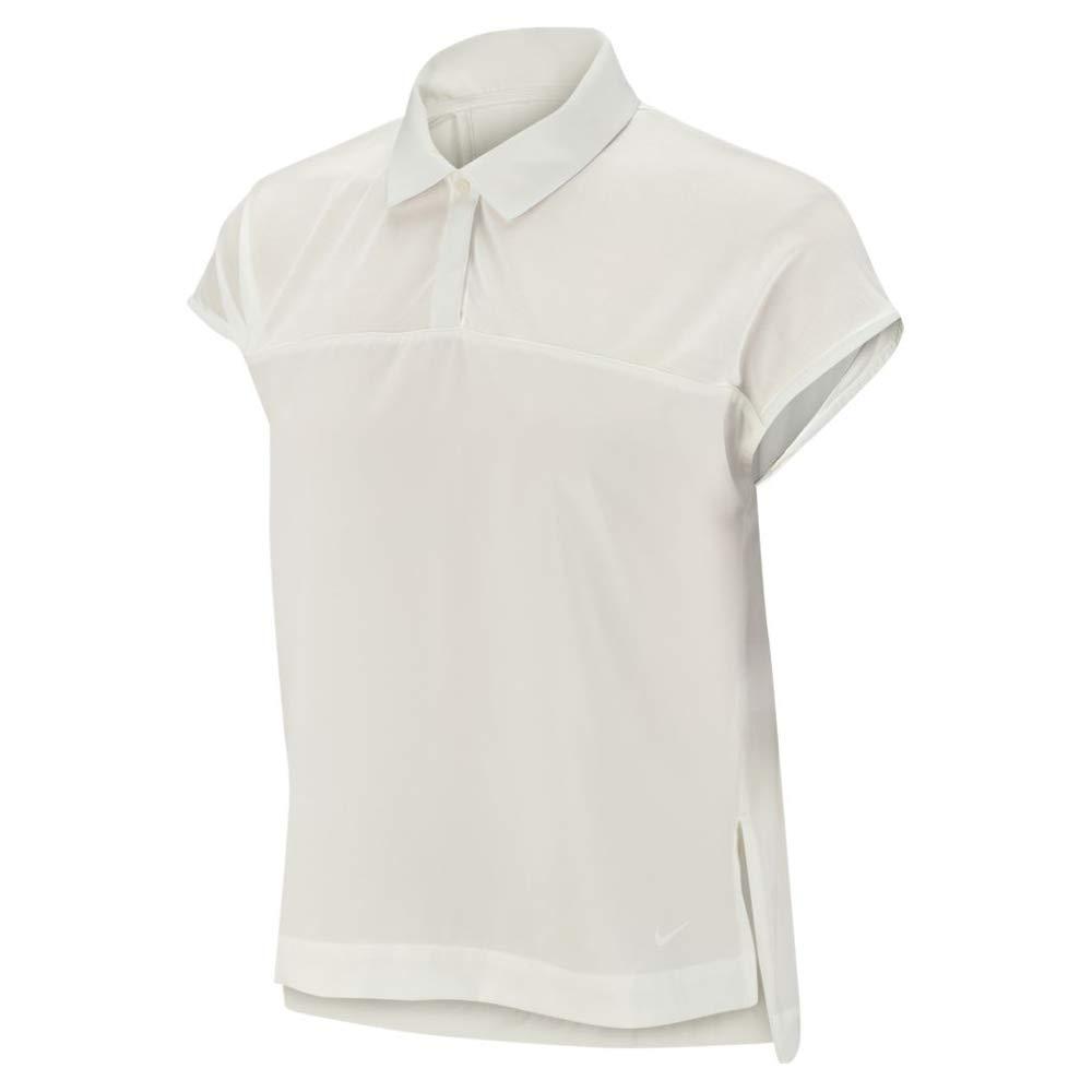 Nike W Nk Dry FLX Polo SS, Mujer, Sail, L: Amazon.es: Deportes y ...