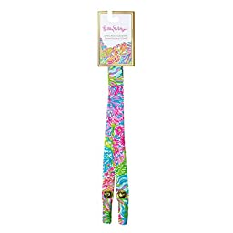 Lilly Pulitzer Sunglass Strap (Pocket Size, Lovers Coral)