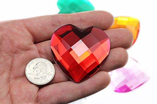 large acrylic gems - 8