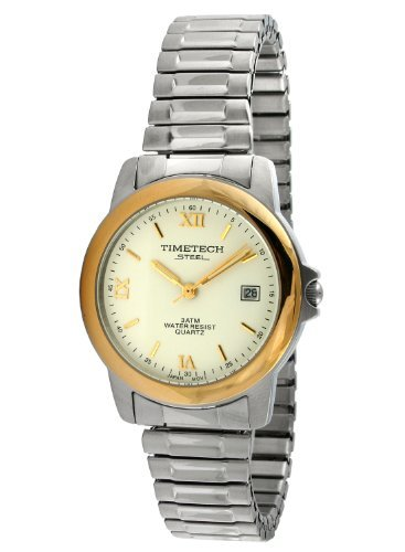 Sub Mariner Date Watch (Timetech Steel 3602M Men's Two-Tone Expansion Watch)