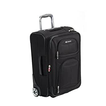 Delsey Helium Fusion 3.0 Carry-on Expandable Suiter Trolley - Ebony Black