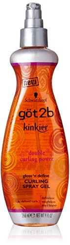 Weightless Curl Shine Curling Gel - Got 2B Kinkier Curling Spray Gel 266 ml by GOT 2B