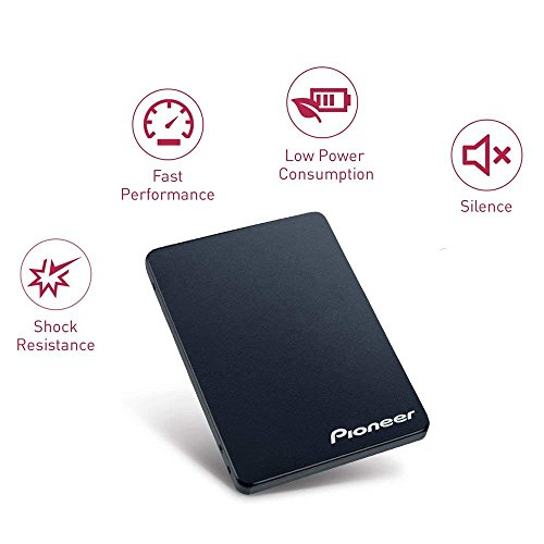 Pioneer 240GB Solid State Drive, 3D NAND 2.5-Inch TLC SSD SATA 6Gb/s Shock-proof, Marvell controller, LPDC error correction, SMART self-monitoring, PC upgrade(APS-SL2-240) by Pioneer (Image #3)