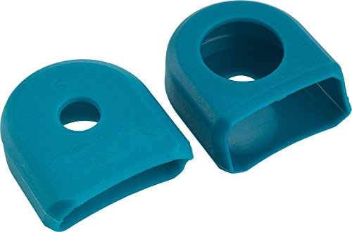 RaceFace Small Crank Boots, 2-Pack Turquoise