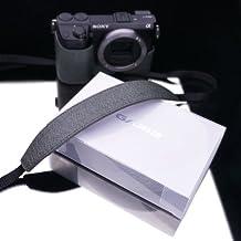 Gariz Genuine Leather XA-CHLSS Camera Neck Strap for Sony RX1 NEX-7 NEX-6 NEX-5R NEX-5N RX100 LX7 Leica X1 X2 Fujifilm X-E1 X100 X10 X-Pro1 Olympus EM-5 OM-D, Special Green