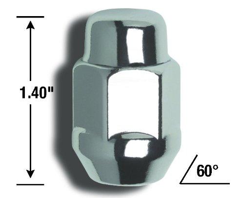 For 5 Lug Wheels Gorilla Automotive 91903 Acorn Bulge Wheel Installation Kit 14mm x 2.00 Thread Size