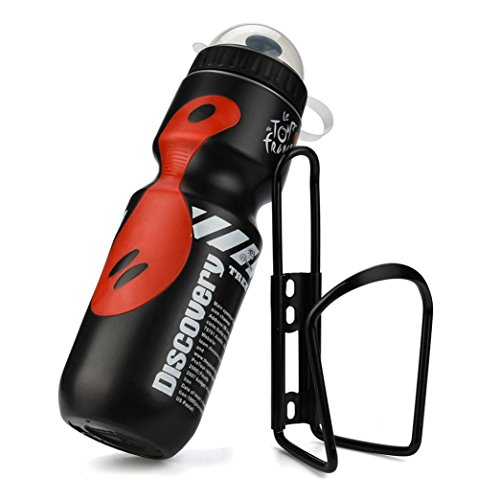 Ecosin Bicycle Kit 650ML Outdoor Water Bottle & Holder Cag