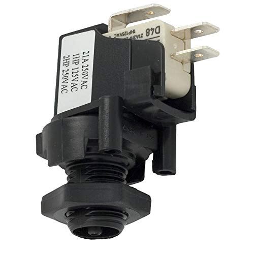 Herga Electric 6871-AEO-U126 SPDT 20A Latching Air Switch