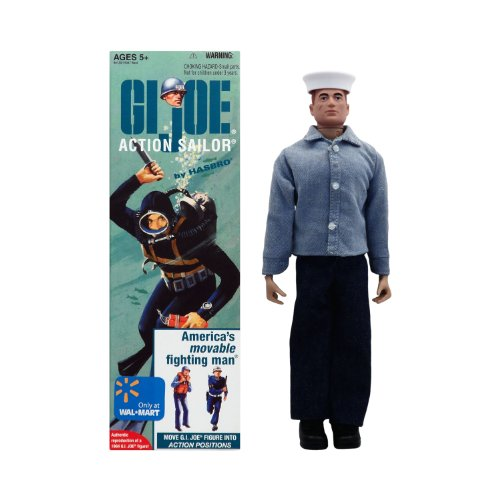"12"" GI Joe ACTION SAILOR 1960"