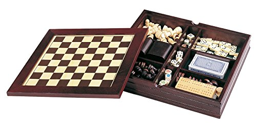 Executive 7-in-1 Wooden Game Set