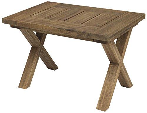 Siena Garden GFA-COC-001447 Hocker Rotondo, 68 x 45 cm Akazienholz sandgestrahlt