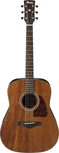 Ultimate Beginner Acoustic Guitar - Ibanez AW54OPN Artwood Dreadnought Acoustic Guitar - Open Pore Natural