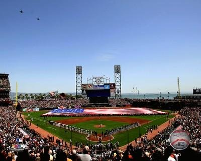 AT&T Park San Francisco Giants MLB Stadium Photo (Size: 16