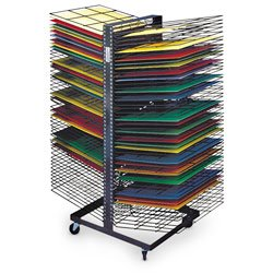 Nasco Jumbo Back-to-Back 100-Shelf Drying Rack - Arts & Crafts Materials - 9708414