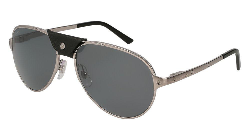 Cartier - Gafas de sol - para hombre Plateado plateado ...